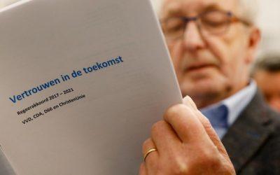 Het regeerakkoord: Vertrouwen in de toekomst en de pensioenparagraaf